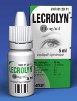 LECROLYN 40 mg/ml silmätipat 5 ml