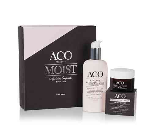 ACO Moist Ultra Sosft Ccleansing Milk & Lifting Day Cream