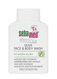 SEBAMED OLIVE FACE & BODY WASH 200 ML