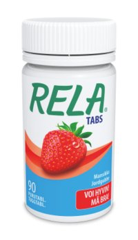 RELA TABS STRAWBERRY 90 purutabl