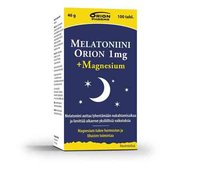 MELATONIINI ORION + MAGNESIUM 100 TABL