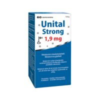 UNITAL STRONG 1,9 MG TABL 60 FOL