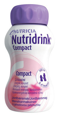 NUTRIDRINK COMPACT MANSIKKA 4X125 ML