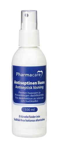 PHARMACARE ANTISEPTINEN SUIHKE 100 ML