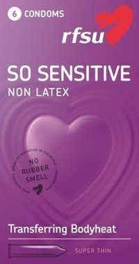 So Sensitive - lateksiton kondomi 6 kpl