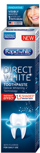 RAPID WHITE DIRECT WHITE TOOTHPASTE 75 ml