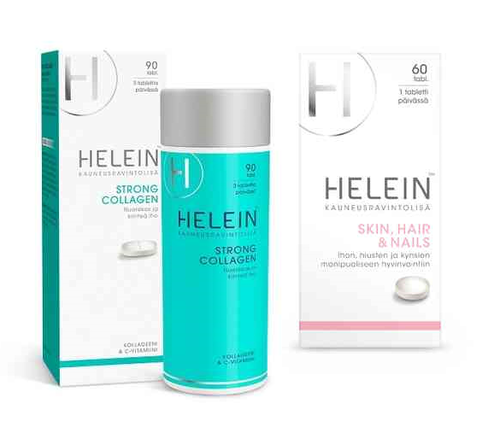 Helein Strong Collagen + Helein Hair & Skin & Nail