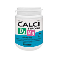 CALCI STRONG + MG + D3 150 TABL