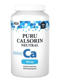PURU CALSORIN NEUTRAL 500MG 100 kpl
