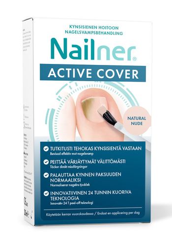 NAILNER ACTIVE COVER NUDE 30 ML